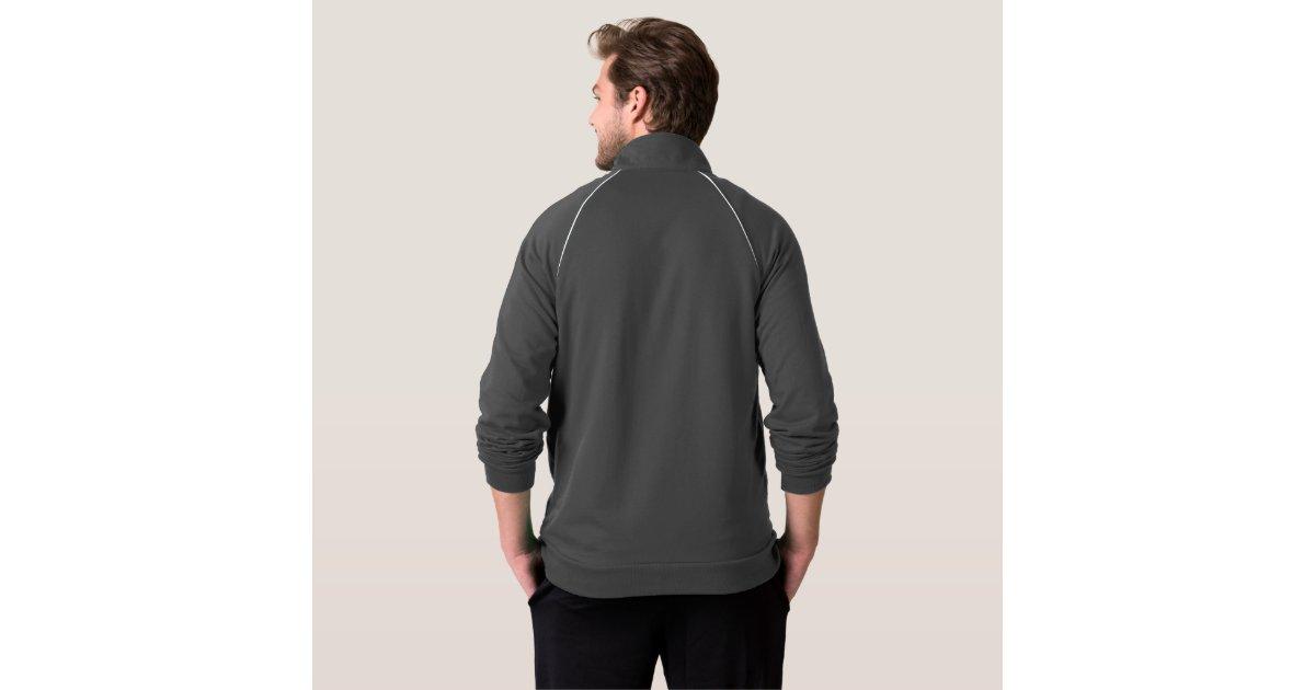 Men Fleece Track Jacket Edit n choose color U like