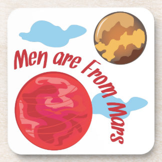 Men From Mars Drink Coaster