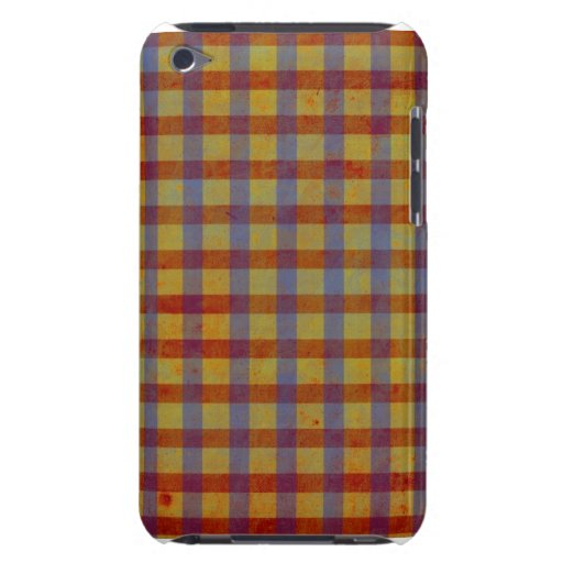 Men Gingham Trend iphone Touch Case Barely There iPod Cases