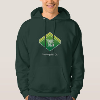 Men Hooded Sweatshirt with Custom Logo Branding