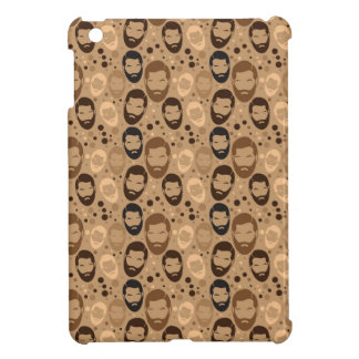 Men in Beards pattern Case For The iPad Mini