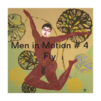 Men in Motion # 4 Fly Canvas Prints