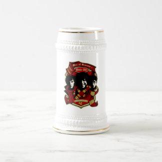 Men in Scarves Beer Mug