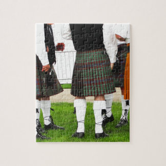 Men In Skirts Jigsaw Puzzle