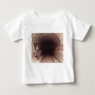 Men in the New York City Subway System Vintage Infant T-shirt