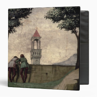 Men Looking over a Wall, from the Visitation (fres 3 Ring Binder