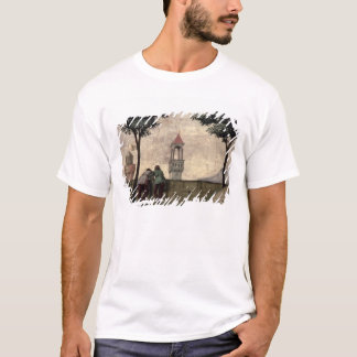 Men Looking over a Wall, from the Visitation (fres T-Shirt