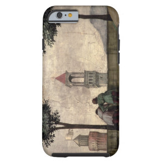 Men Looking over a Wall, from the Visitation (fres Tough iPhone 6 Case
