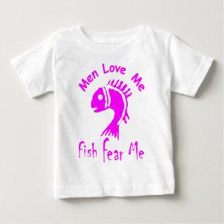 MEN LOVE ME - FISH FEAR ME T SHIRT
