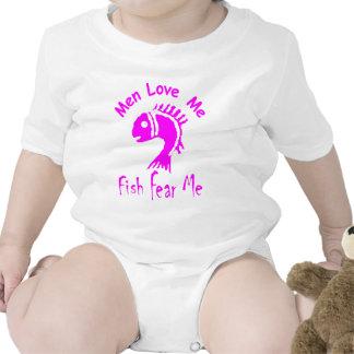 MEN LOVE ME - FISH FEAR ME BODYSUITS
