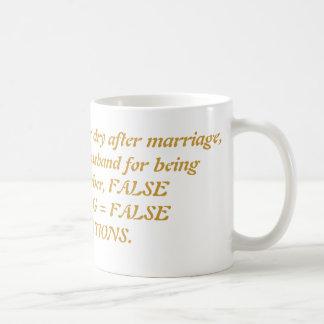 Men/Mars vs. Women/Venus Coffee Mug