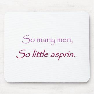 men mouse pad