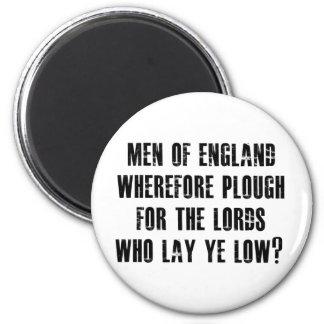 Men of England Magnet