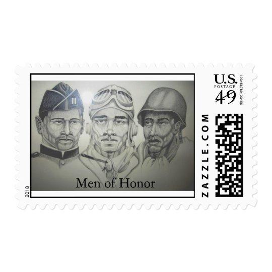 Men of Honor Postage