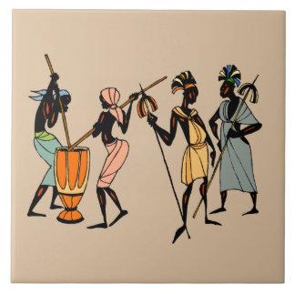 Men of Kenya Tile