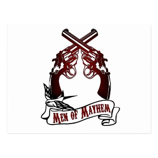 Men of Mayhem Postcard