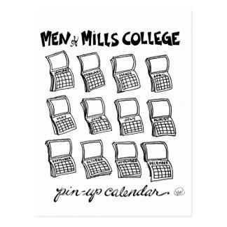 Men of Mills College Postcard