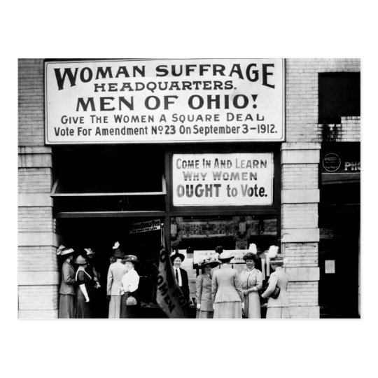 Men of Ohio! : 1912 Postcard