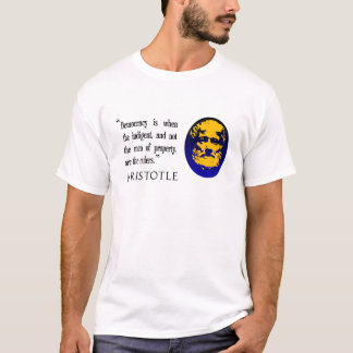 men of property, rulers, Aristotle OAP T shirt