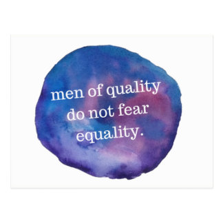 Men of Quality Postcard