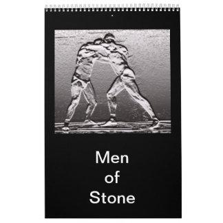 Men of Stone Calendar