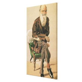 Men of the Day, no. 33, Charles Darwin Canvas Print