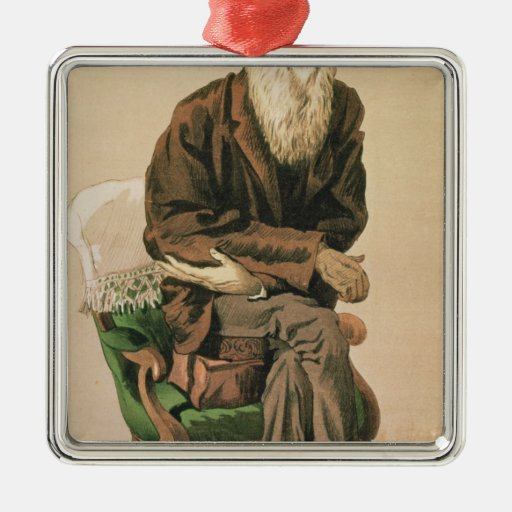 Men of the Day, no. 33, Charles Darwin Ornament