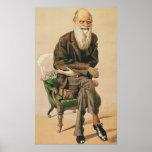 Men of the Day, no. 33, Charles Darwin Print