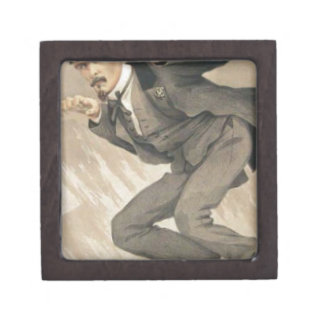 Men of the Day No.4, The mob rule by James Tissot Jewelry Box