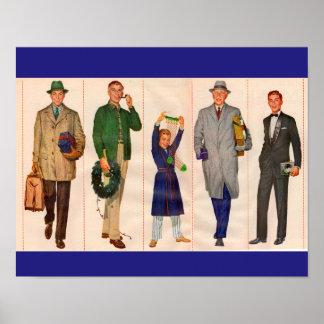 Men of the Family Poster