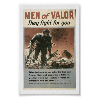 Men of Valor-They Fight for You Poster