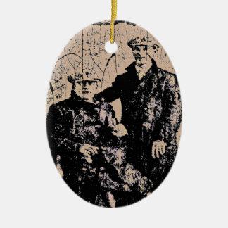 Men of Yore Ceramic Ornament
