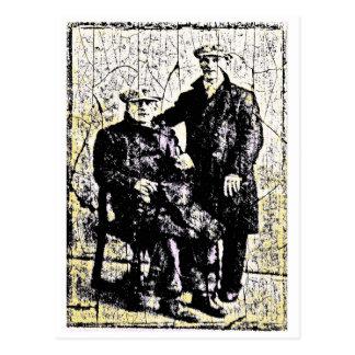 Men of Yore Postcard