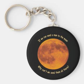 Men on the Moon Keychain