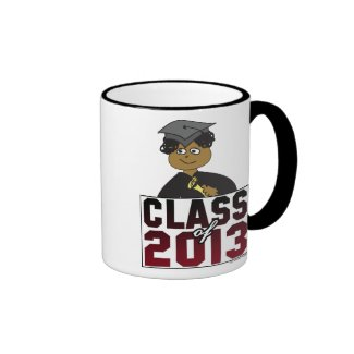 Men or Boys Class of 2013 Coffee Mug