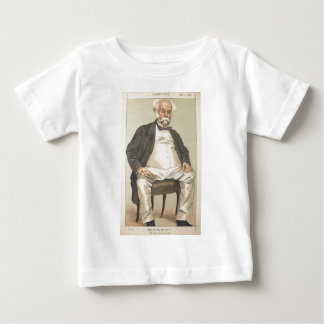 Men or Women of the Day No.310 Caricature Baby T-Shirt