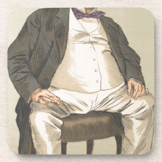 Men or Women of the Day No.310 Caricature Drink Coaster