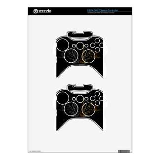 Men performing stunt on motorbike xbox 360 controller decal