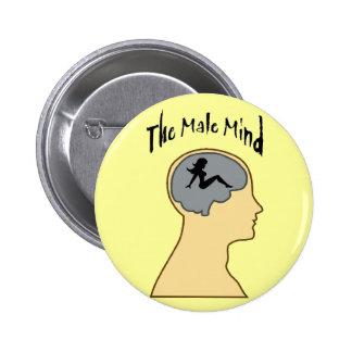Men!! Pinback Button