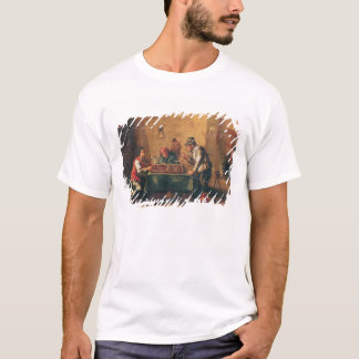Men Playing Backgammon in a Tavern T-Shirt