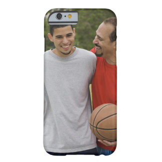 Men playing basketball barely there iPhone 6 case