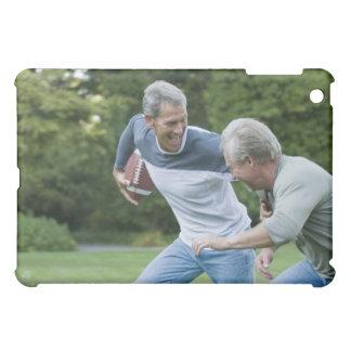 Men playing football iPad mini case