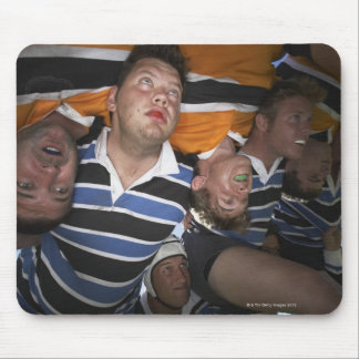 Men Playing Rugby 3 Mouse Pad