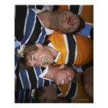 Men Playing Rugby Posters