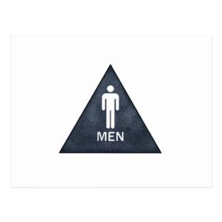 Men Postcard