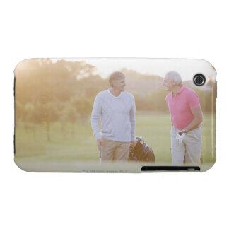 Men pulling golf carts iPhone 3 Case-Mate case