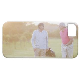 Men pulling golf carts iPhone SE/5/5s case