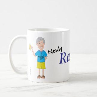 Men's retirement coffee mug