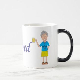 Men's retirement magic mug