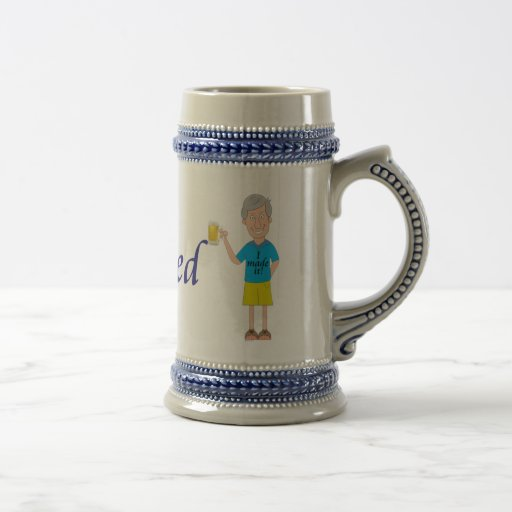 Men's retirement mug